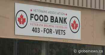 Calgary Cares: Veterans Association Food Bank sees unprecedented need; businesses step up to help - Globalnews.ca