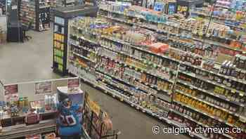 All carts stolen from Calgary grocery store - CTV News