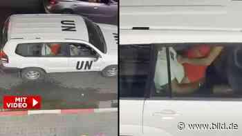 Im Dienstwagen erwischt - Sexhungriger Friedenswächter schockiert UN - BILD