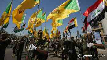 Iranische Kräfte im Irak: Mullah-Milizen provozieren Krieg mit Bagdad - BILD