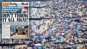 Corona-Angst: Briten-Minister droht mit Schließung der Chaos-Strände - BILD