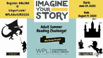 Jun 29 | Adult Summer Reading Challenge - Imagine Your Story! | Woodbridge - Patch.com