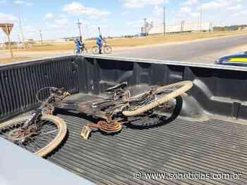 Ciclista morre após acidente envolvendo carreta na BR-163 em Sorriso - Só Notícias