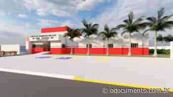 Corpo de Bombeiros Militar em Sorriso recebe projeto do novo quartel - O Documento