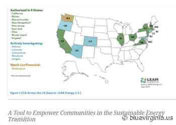 How Community Choice Aggregation Empowers Communities to Increase Sustainable Energy - Blue Virginia