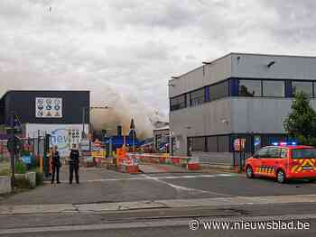 Zware brand bij afvalverwerker Renewi op Mechelsesteenweg