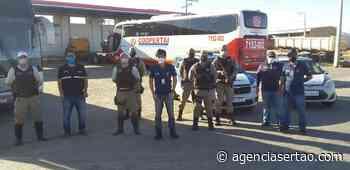 ANTT apreende quatro veículos clandestinos de transporte coletivo em Guanambi - Agência Sertão