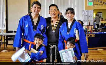 Madhuri Dixit Shares Memories From A Taekwondo Class With Her Family - NDTV