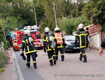 Incendie dans une habitation à Mont-Saint-Aignan : une personne âgée indemne - InfoNormandie.com