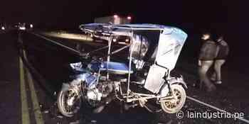 Mototaxista muere tras chocar contra camión en Huarmey - La Industria.pe