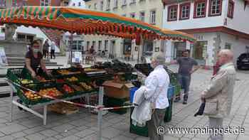 Wochenmarkt im Aufwind? So läuft es in Ochsenfurt und Eibelstadt - Main-Post
