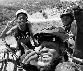 KEVIN HART HITS THE BIKING TRAIL WITH HIS KIDS - BCK