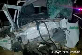 Muere personal de salud por accidente en el tramo Patacamaya-Tambo Quemado - Red Erbol