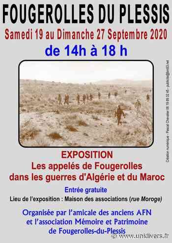 Exposition guerres Algérie et Maroc Fougerolles-du-Plessis samedi 19 septembre 2020 - Unidivers