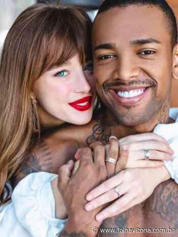 Casamento à vista? Nego do Borel compra alianças de ouro branco com brilhantes para Duda Reis - Folha Vitória