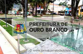Após decreto, Ouro Branco também regride para onda Verde   Correio Online - Jornal Correio da Cidade