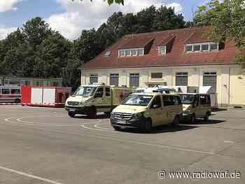 NRW-Gesundheitsminister besucht Corona-Testzentrum in Oelde - Radio WAF