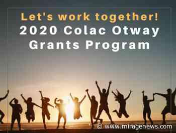 Colac Otway celebrates grants program - Mirage News