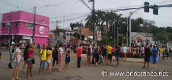 Camelôs fazem protesto no centro de Rio Branco - O RIO BRANCO - O Rio Branco