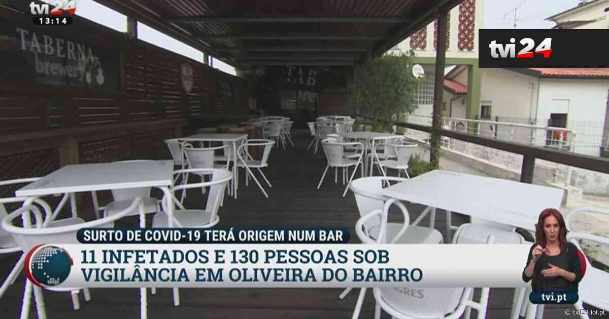 Covid-19: Oliveira do Bairro em alarme com surto que poderá atingir outros concelhos - TVI24