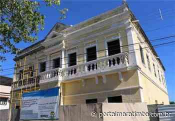Restauração da antiga Câmara Municipal de Itapemirim segue dentro do cronograma - Portal Maratimba