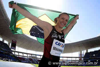 Maurren Maggi comemora 21 anos do Recorde Sul-Americano no Salto em Distância - Surto Olímpico