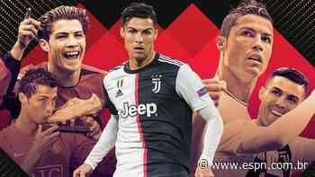 Cristiano Ronaldo, a evolução: salto no Manchester United, auge no Real Madrid e '9' na Juventus - ESPN.com.br