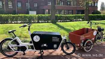 Elektrische Lastenräder in Drensteinfurt gut angenommen - Interesse bei Bürgern, Händlern und Handwerkern - wa.de