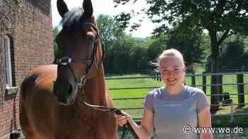 Reiten: Lara Overmann vom RV Drensteinfurt ist leidenschaftliche Springreiterin und Züchterin. - Westfälischer Anzeiger