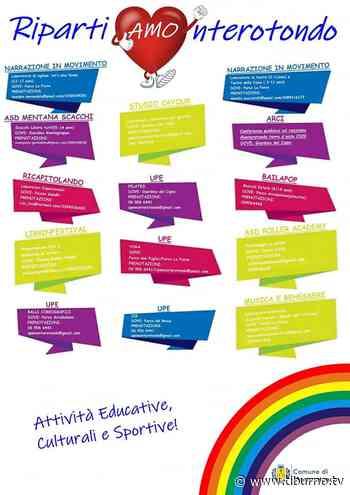 RiparTIAMO Monterotondo: un programma di attività per i piccoli e non solo - Tiburno.tv Tiburno.tv - Tiburno.tv