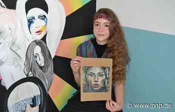 Inntalerin (15) malt Lady Gaga - und der Superstar reagiert auf ihr Bild - Passauer Neue Presse