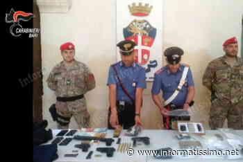 Putignano - Maxi blitz dei Carabinieri: sequestrati armi e droga - Putignano Informatissimo