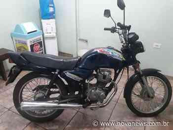 Nova Andradina: Adolescente é conduzido para a delegacia após ser flagrado com moto furtada - Nova News - Nova News