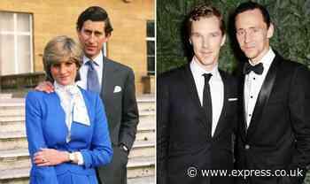 Princess Diana movie: Benedict Cumberbatch, Tom Hiddleston favourites for Prince Charles - Express