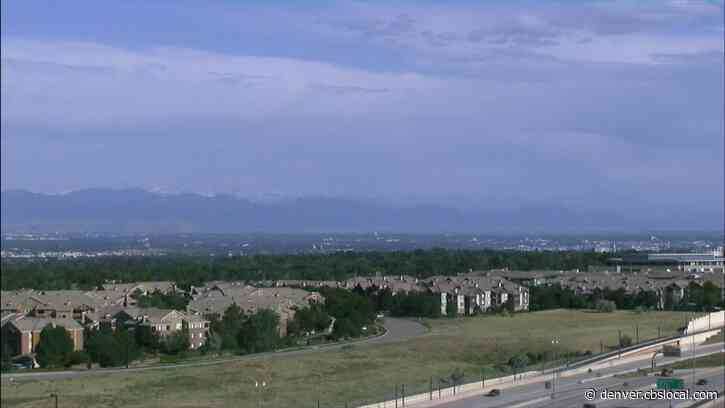 Colorado Weather: Hot Today With A Gusty Shower Or T-Storm Possible