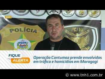 Operação Contumaz prende envolvidos em tráfico e homicídios em Maragogi - TNH1