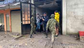 Ejército brindó apoyo a comunidad afectada por desbordamiento del río Guamal en el Meta - Diario del Sur