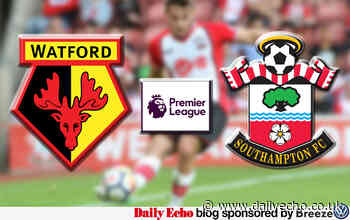 Live coverage of Watford v Southampton - Premier League
