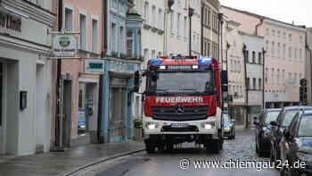 Trostberg: Handtuch-Brand fordert eine verletzte Person - chiemgau24.de