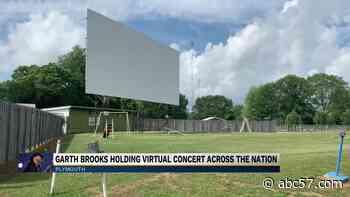 Tri-Way Drive-In Theater hosts Garth Brooks virtual concert - ABC 57 News