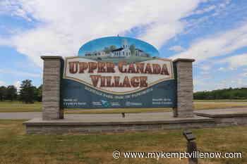 Partial reopening of Upper Canada Village begins next week - mykemptvillenow.com