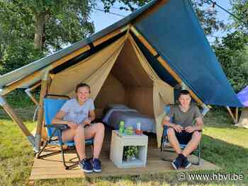 Tieners openen luxecamping op boerderij (Bocholt) - Het Belang van Limburg Mobile - Het Belang van Limburg