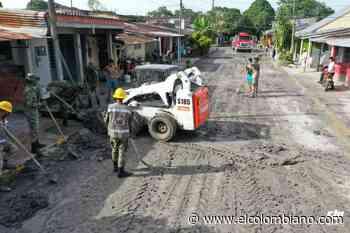 Emergencia en el Meta por desbordamiento de río Guamal - El Colombiano