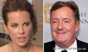 Piers Morgan: GMB host addresses surprising warning from Kate Beckinsale 'Don't ruin it' - Express