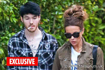 Kate Beckinsale, 46, spotted arm in arm with toyboy Goody Grace, 23 - The Sun