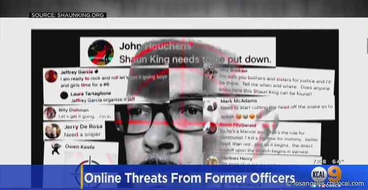 Former Law Enforcement Officers Under Investigation Over Alleged Threats Against Activist Shaun King