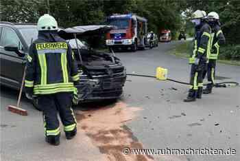 Verkehrsunfall in der Bauerschaft Köckelwick – eine Person verletzt - Ruhr Nachrichten