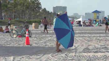 Residentes de Florida reaccionan al uso obligatorio de mascarilla - CNN