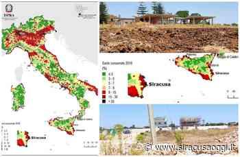 """Consumo del suolo a Siracusa, per l'Ispra aumentato del 30%. Gradenigo: """"così non va"""" - SiracusaOggi.it"""