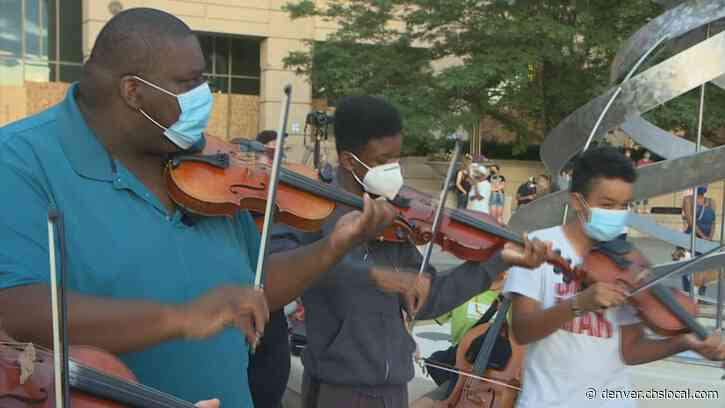 Chaos & Calm: Musicians Honor Elijah McClain During Tense Protests
